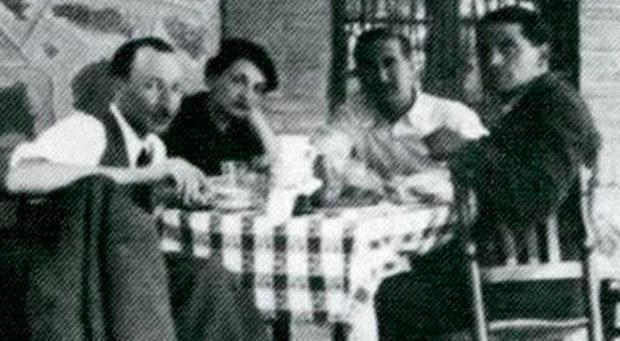 García Lorca en Toledo. Restaurante Venta de Aires. Aniversario de su muerte.