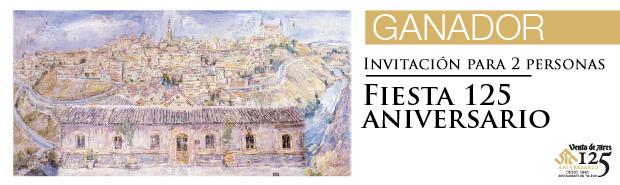 Invitación Evento 125 aniversario Venta de Aires