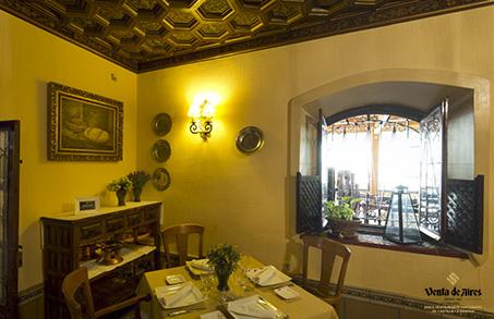 cenar en comedores privados Toledo