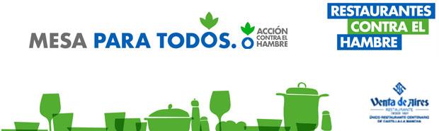 Venta de Aires con Acción contra el Hambre