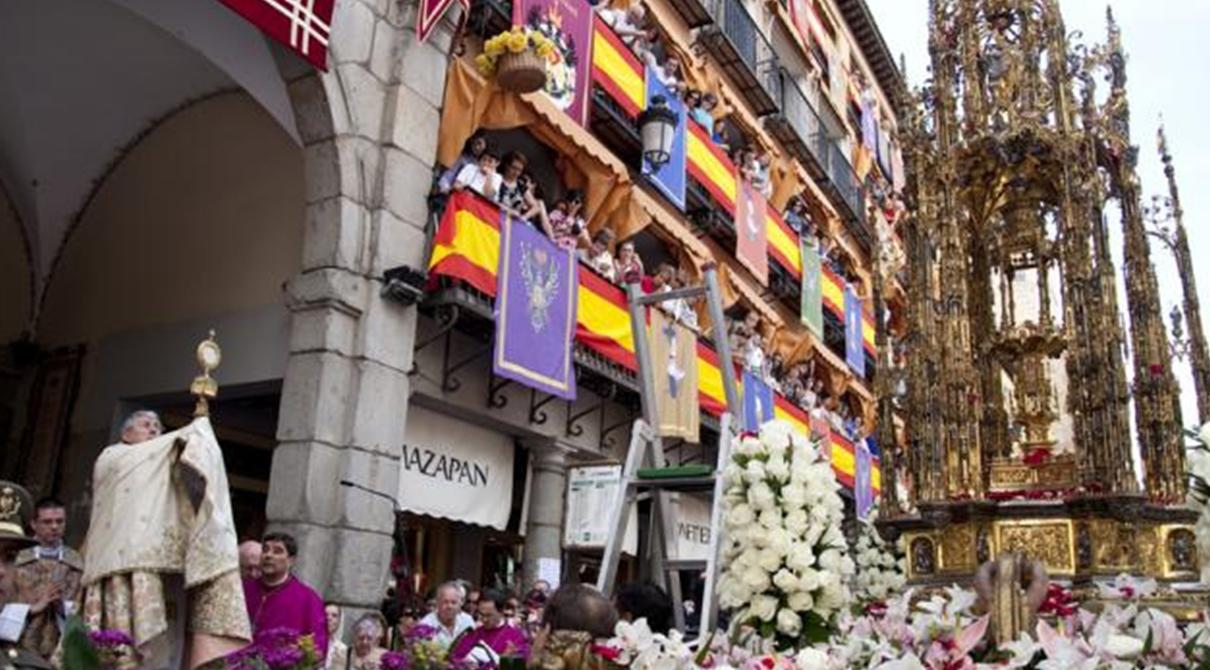 El Corpus Christi en Toledo