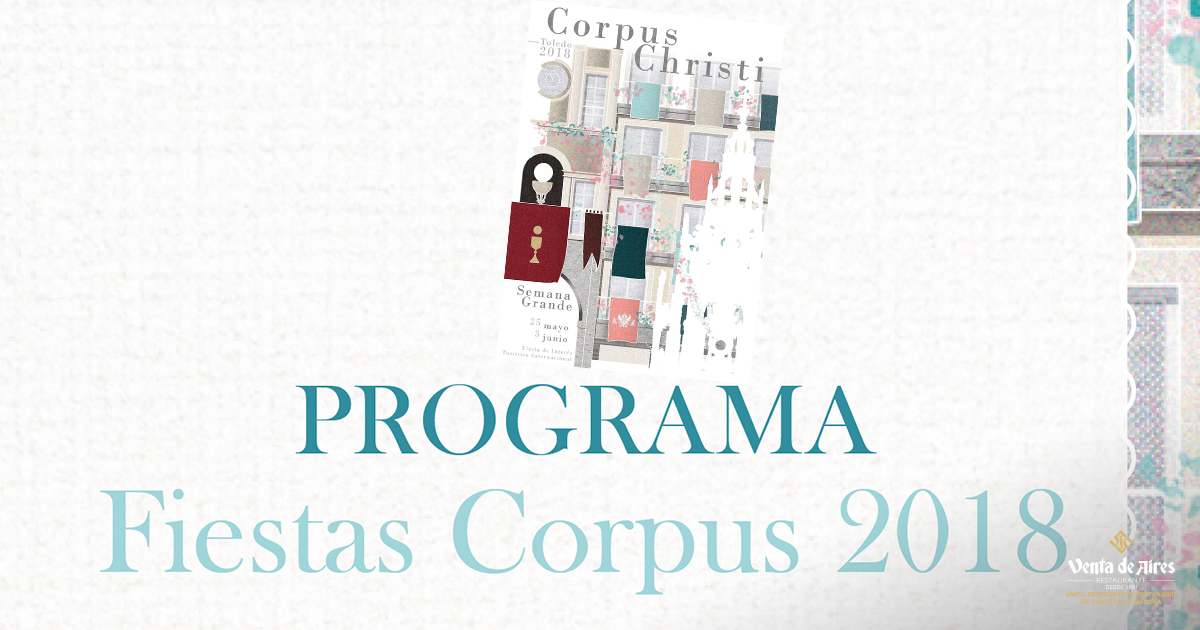 Programa Corpus Christi Toledo 2018