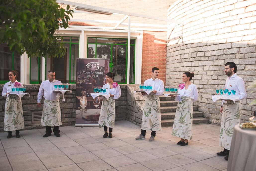 Catering de bienvenida en el Instituto Eduardo Torroja