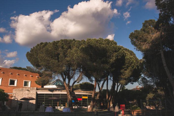 Catering al aire libre en Madrid