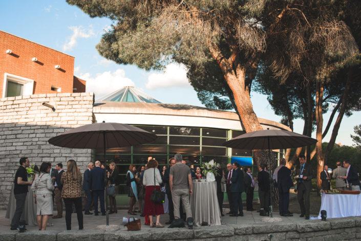 Catering de empresas en exterior en Madrid