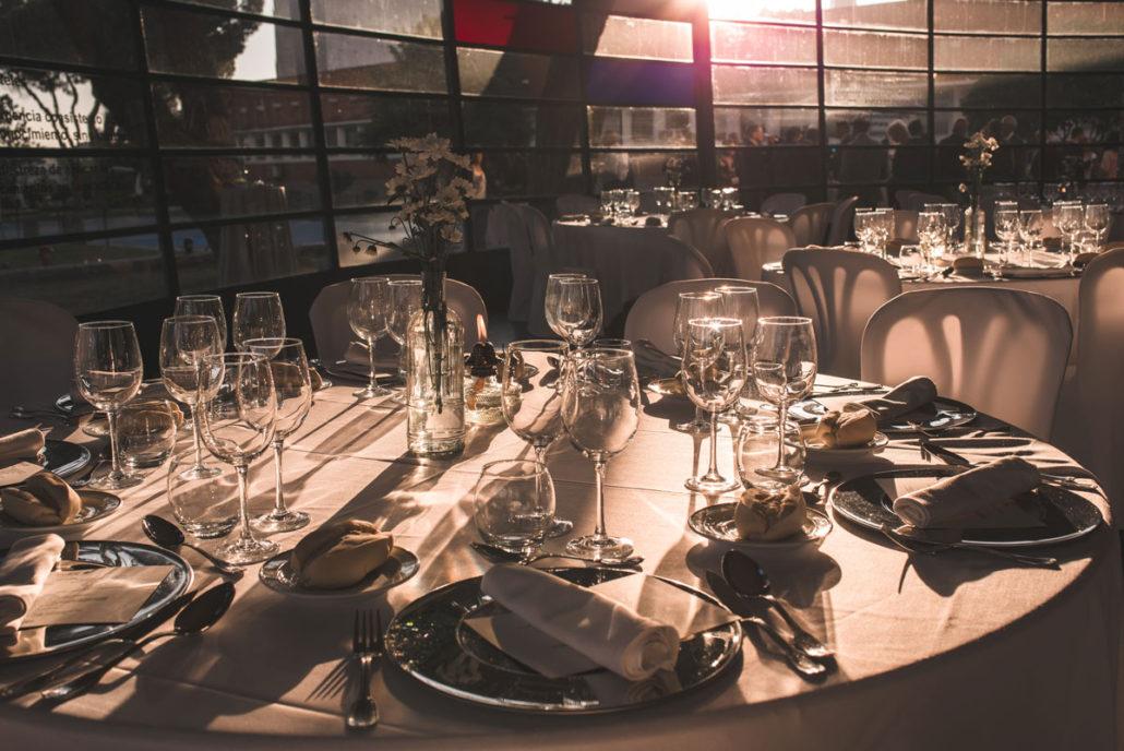 Cubertería del catering en Madrid