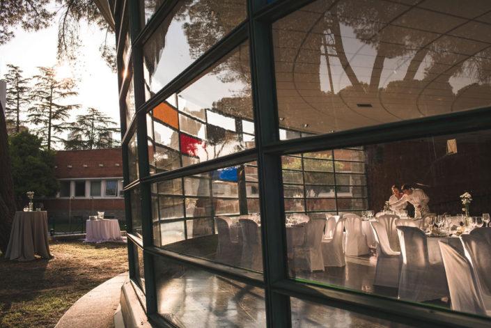 Cena en el salón del Instituto Eduardo Torroja