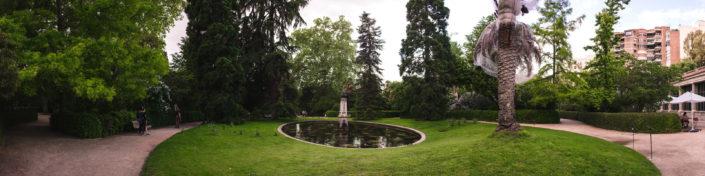 Jardines en el Catering en el Jardín Botánico