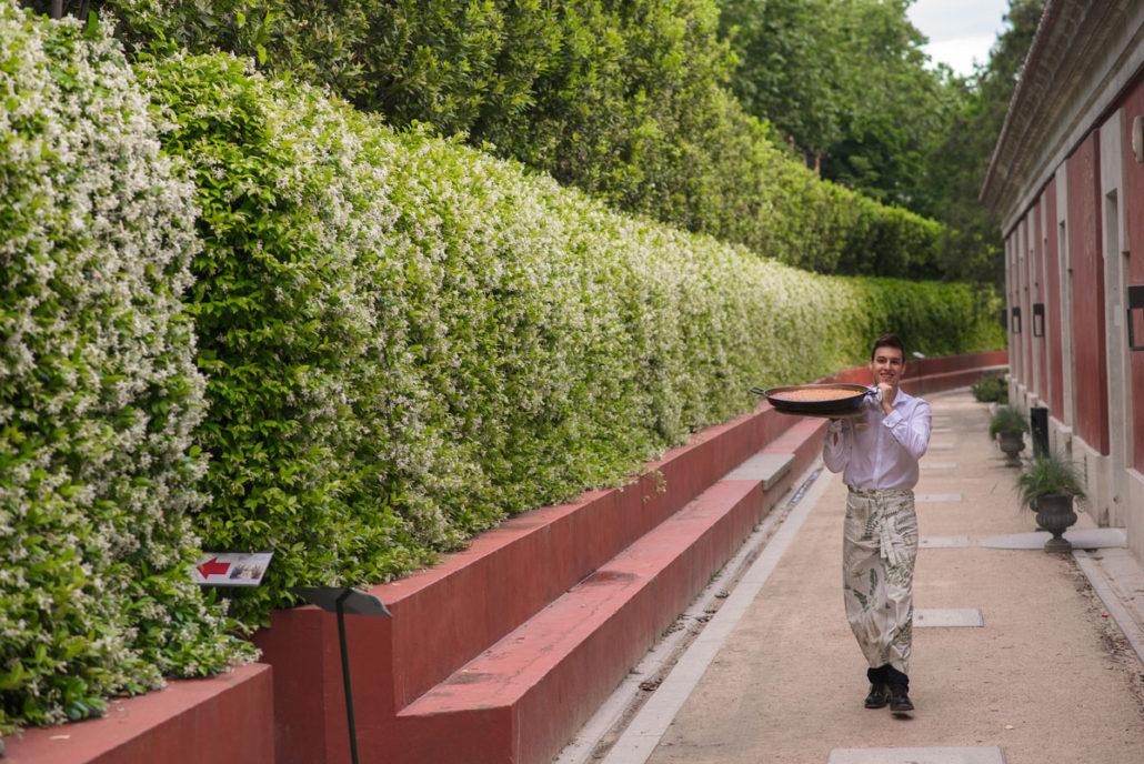Servicio de catering en el Jardín Botánico