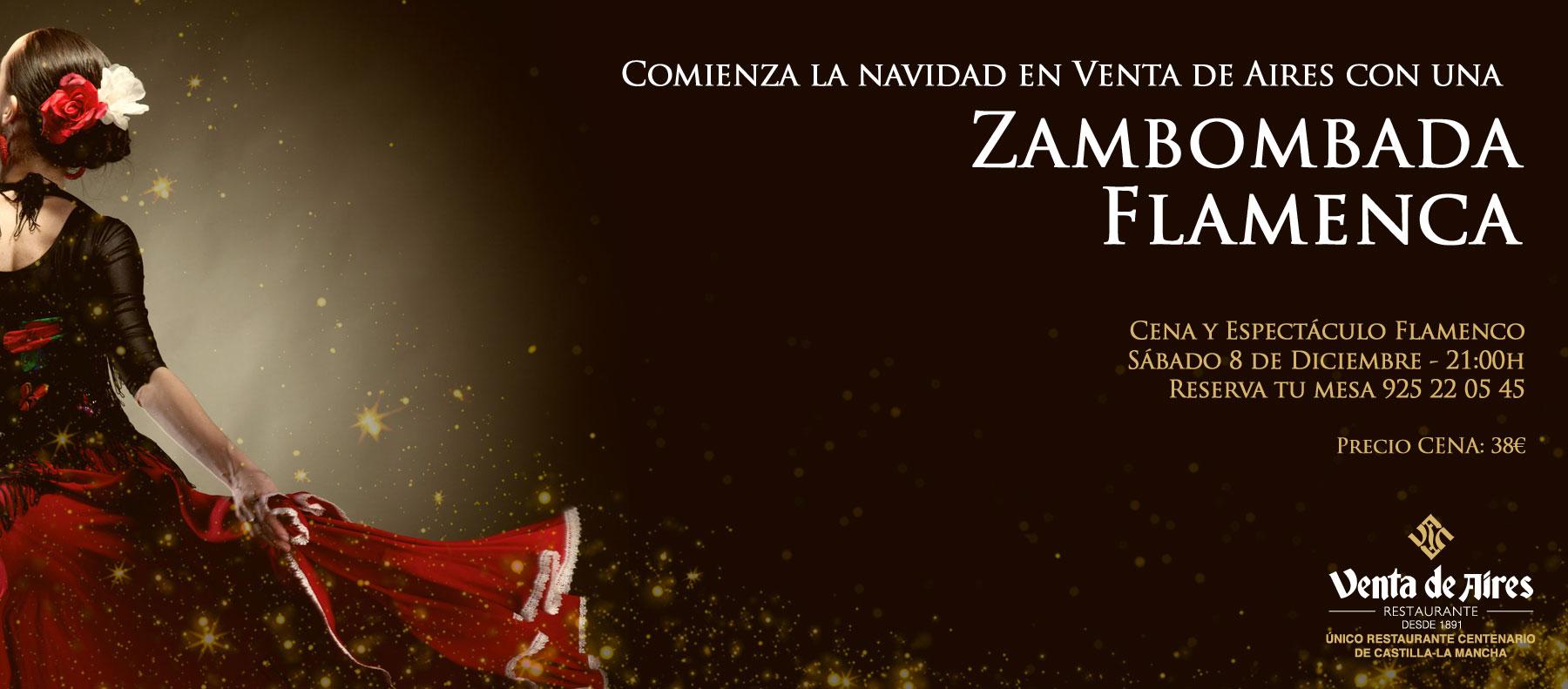 Zambombada flamenca en Venta de Aires Toledo