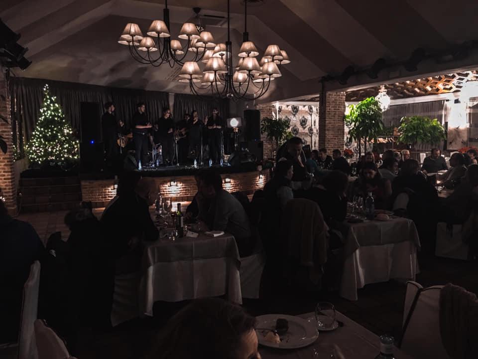 Fambombada flamenca en Toledo navidad cena
