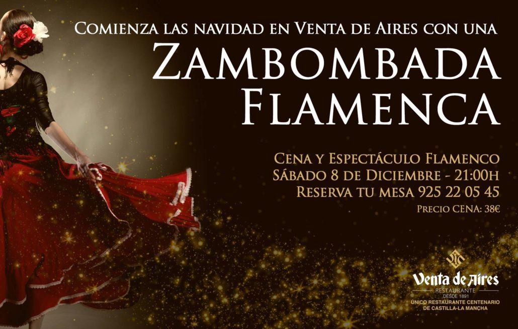 Fambombada flamenca Toledo cartel venta de aires