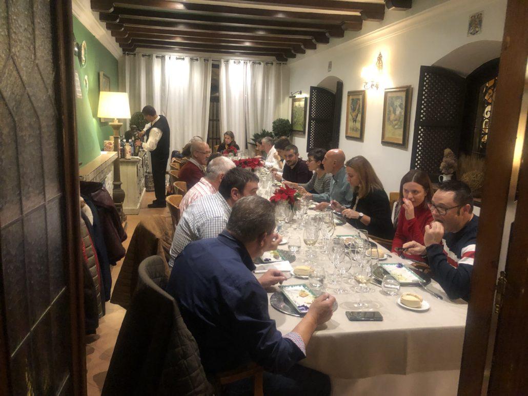 Jornadas del vino Cata finca Constancia