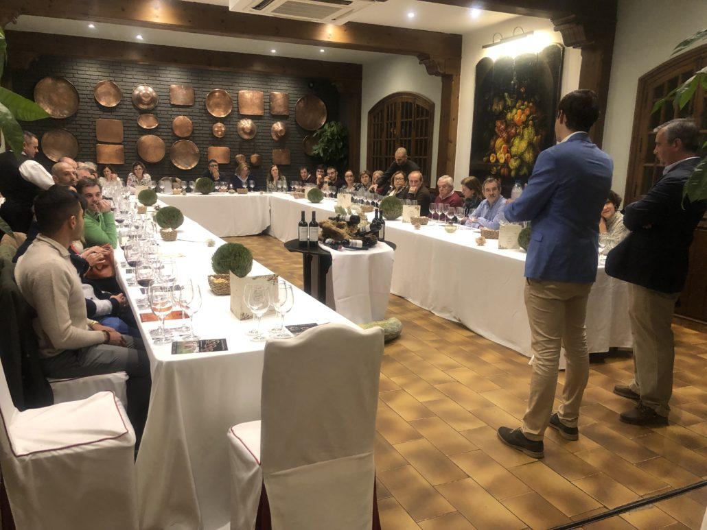 Jornadas del Vino cata finca Loranque