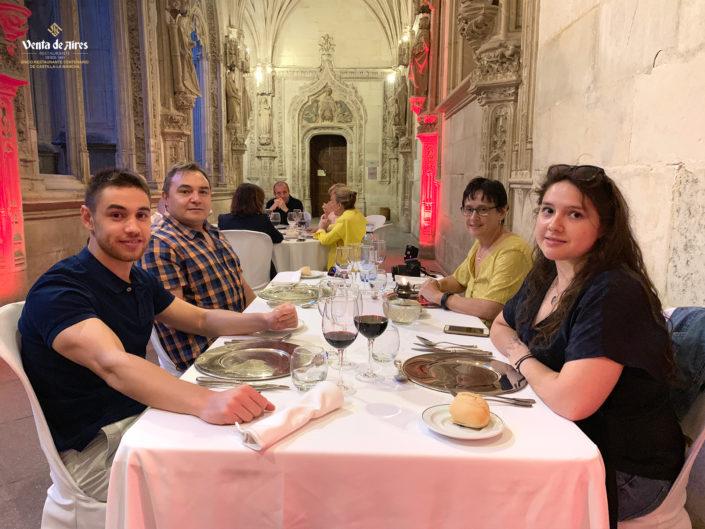 San Juan de los Reyes en Cenas a Ciegas 2019 con Venta de Aires
