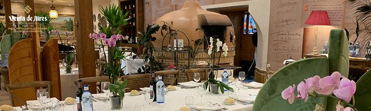 Restaurante Venta de Aires y el Corpus Christi en Toledo