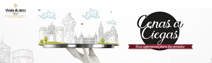 Vuelven las Cenas a Ciegas con Venta de Aires