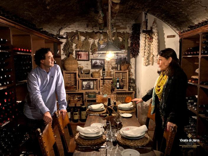 """""""Eventos Mahou"""" en Venta de Aires con Pepe Rodríguez y Ana Morgade"""