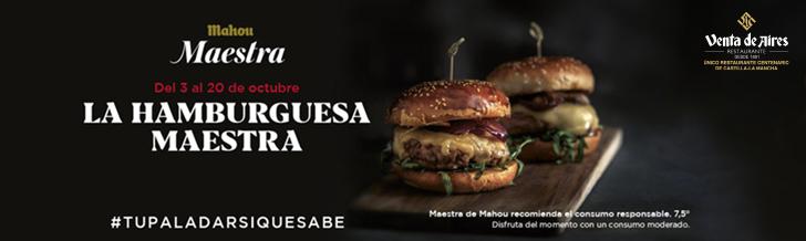 concurso hamburguesa mahou maestra en venta de Aires