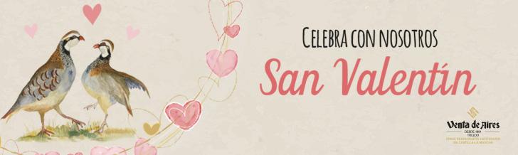 celebra san valentin en Venta de Aires