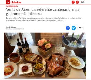 Gastrocrítica Venta de Aires