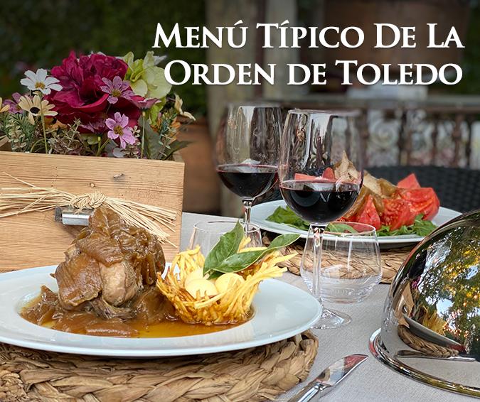 Menú Típico Orden de Toledo