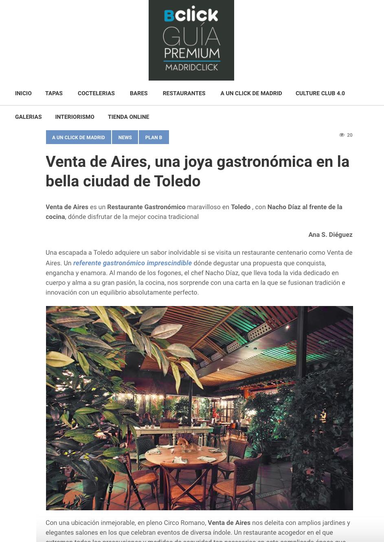 Restaurante ciudad de Toledo